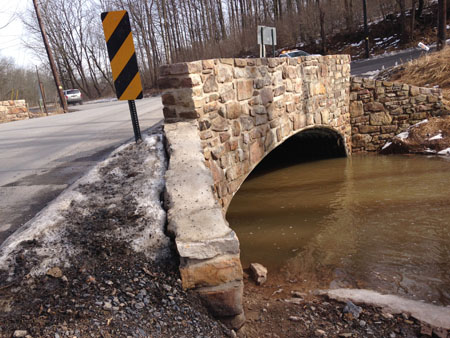 Johnstown Road Stone Bridge Repair